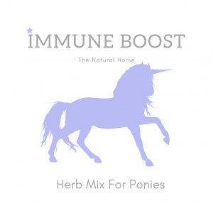 Immune Boost For Ponies